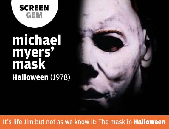 Screengem michael myers mask in halloween 1978 the big picture magazine - Masque halloween film ...