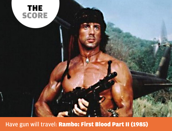 The Score Rambo First Blood Part Ii Composer Jerry Goldsmith 1985 The Big Picture Magazine