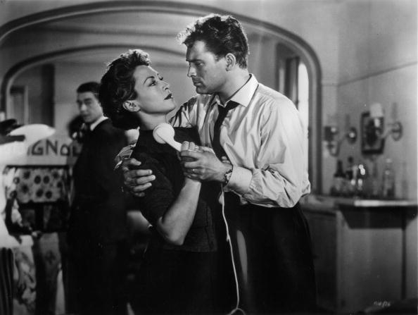 Marie Sabouret and Jean Servais (1910 - 1976) star in the French heist film 'Rififi' (or 'Du Rififi Chez Les Hommes'), adapted from the novel by Auguste le Breton and directed by Jules Dassin.   (Photo by Hulton Archive/Getty Images)