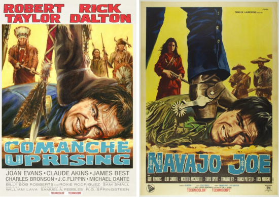 ONCE UPON A TIME IN HOLLYWOOD RICK DALTON TANNER DI CAPRIO MOVIE POSTER